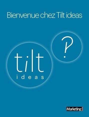 Télécharger le leaflet - Tilt ideas