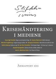 Årsrapport 2011 - Stiftelsen Tinius