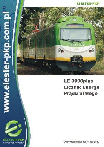 Katalog LE 3000plus - Elester PKP