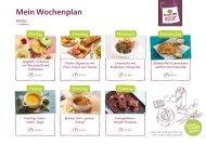 Alnatura Wochenplan 2 mit veganen Rezepten