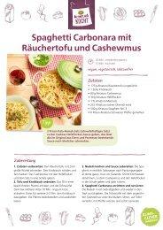 Alnatura vegane Rezepte für Wochenplan Nr. 2