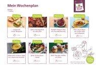 Alnatura Wochenplan Nr. 3 mit veganen Rezepten