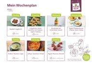Alnatura Wochenplan Nr. 4 mit veganen Rezepten