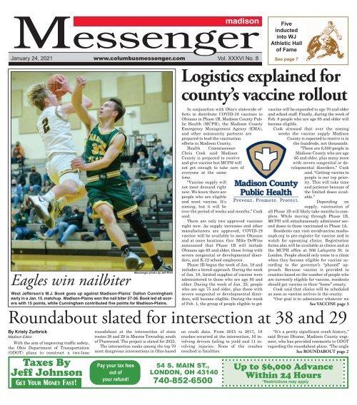 Madison Messenger - January 24th, 2021
