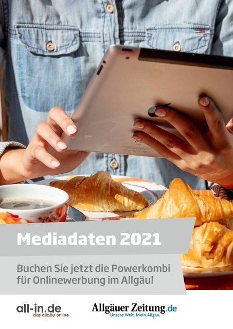 """Mediadaten """"Powerkombi"""" 2021: all-in.de und allgäuer-zeitung.de"""