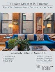 111 Beach Street - Digital Brochure