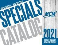 MCM Brands 2021 Specials Catalog