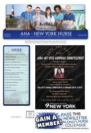 New York Nurse - January 2021