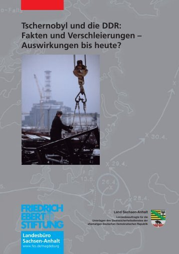 Tschernobyl und die DDR: Fakten und Verschleierungen ...