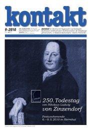 Ausgabe 09 (08.05.2010) PDF - Herrnhut