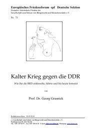 doc/Nr.73 Kalter Krieg gegen die DDR - Europäisches Friedensforum