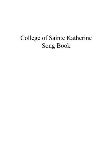 Kates Song Book - Horntip