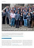 Formaldehyde Europe 2012 - Perstorp Formox - Page 4