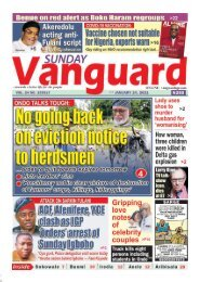 24012021 - No going back on eviction notice to herdsmen