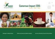 Cameroun Impact 2015 Business People Planet - Globtournet