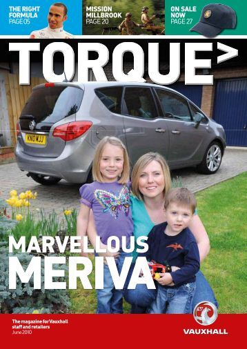 TORQUE magazine June 2010 - the GM Pensions website
