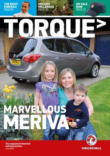 TORQUE magazine June 2010 - the GM Pensions website
