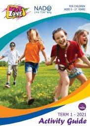 NADO KidsZone Activity Booklet - Term 1 2021