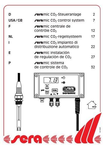 D #mic CO 2-Steueranlage 2 USA/GB #mic CO 2 control system 7 F ...