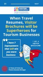 Visitor Brochures have 7 superpowers