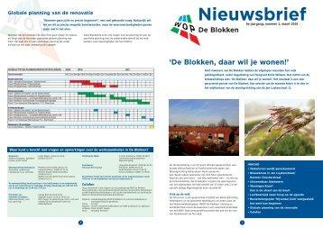 DE BLOKKEN, DAAR WIL JE WONEN! - Gemeente Hellendoorn