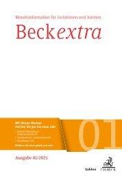 BeckExtra 01/2021