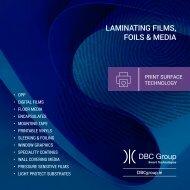 Laminating Film & Media Catalogue V1.2