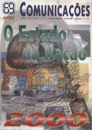 COMUNICAÇÕES 111 - O Estado da Nação (2000)