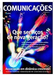 COMUNICAÇÕES 192 - Que serviços de nova geração? (2009)