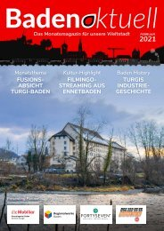 Baden aktuell Magazin Februar 2021
