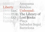 Anupama Kundoo. Unbound: The Library of Lost Books