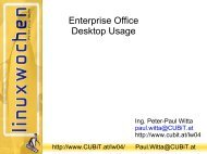 Enterprise Office Desktop Usage - Cubit