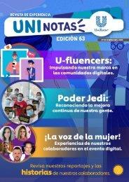Revista Uninotas Edición 63
