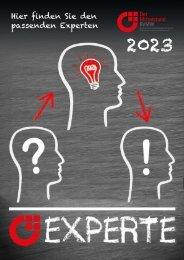 BVMW EXPERTE | Das neue Magazin rund um Berater, Trainer und Coaches.