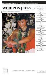 July-August 2007 - Women's Press