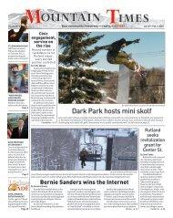 Mountain Times - Vol. 50, No.3 - Jan. 27 - Feb. 2, 2021