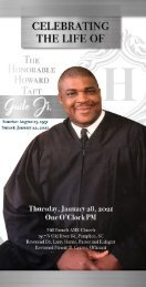 The Honorable Howard Taft Guile, Jr. Memorial Folder