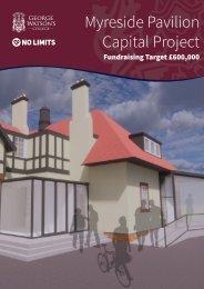 Myreside Pavilion Capital Project