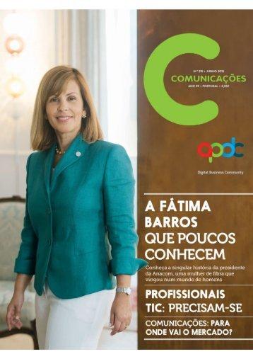COMUNICAÇÕES 215 - A Fátima Barros que poucos conhecem (2015)