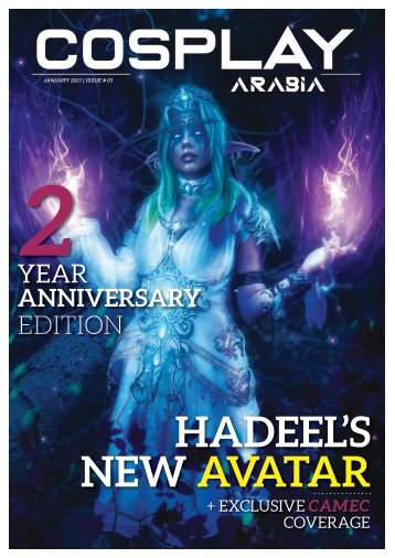 Cosplay Arabia - January 2021