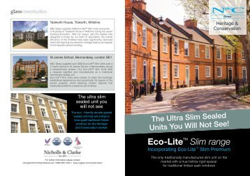 Eco-Lite Slim Range