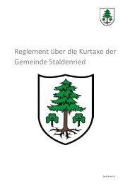 Kurtaxenreglement_Staldenried