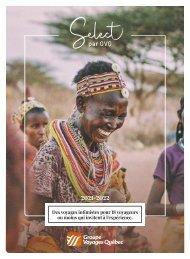 Select - Brochure par Groupe Voyage Québec