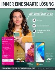 Telekom Monatsflyer Februar 2021