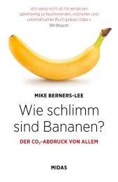 Leseprobe zu »Wie schlimm sind Bananen?«