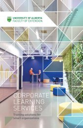 Corporate Learning at Extension