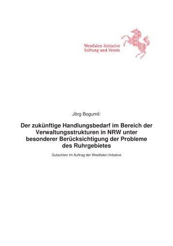 Gutachten Ruhrgebiet - Westfalen Initiative