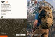 Catalogue 5.11 Automne/hiver 2020 - Anglais