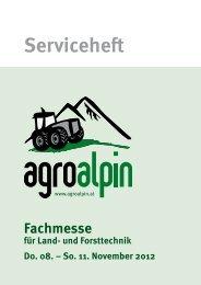 Serviceheft - agroalpin