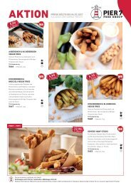 Pier7 Lagerverkauf Fingerfood